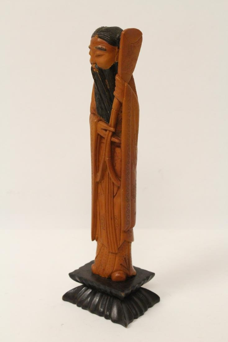 Possible huangyang wood carved figure - 2