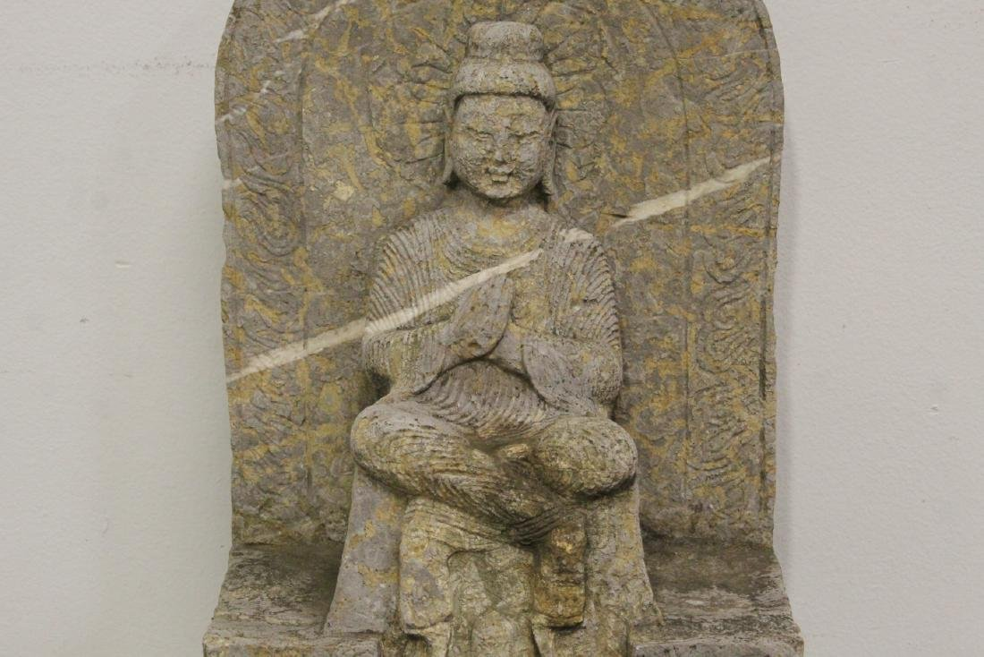 Chinese stone carved Buddha - 3