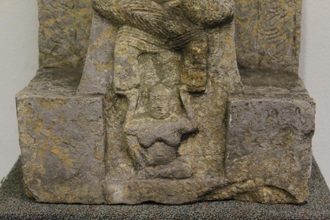 Chinese stone carved Buddha - 4