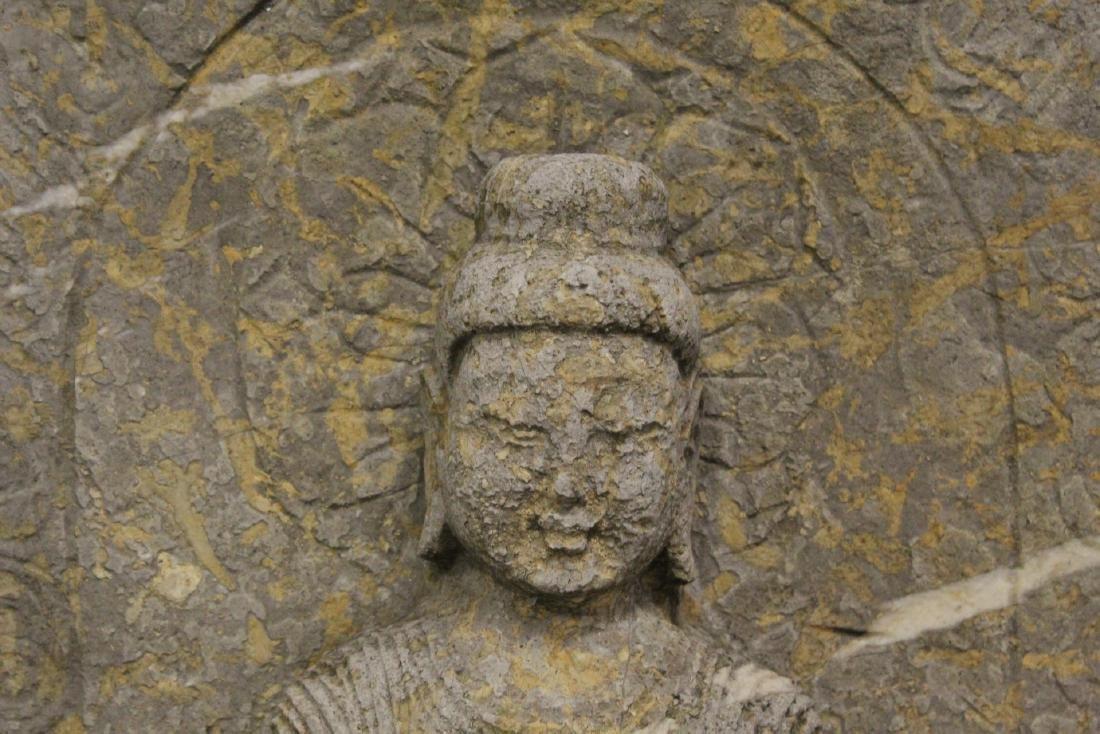Chinese stone carved Buddha - 5