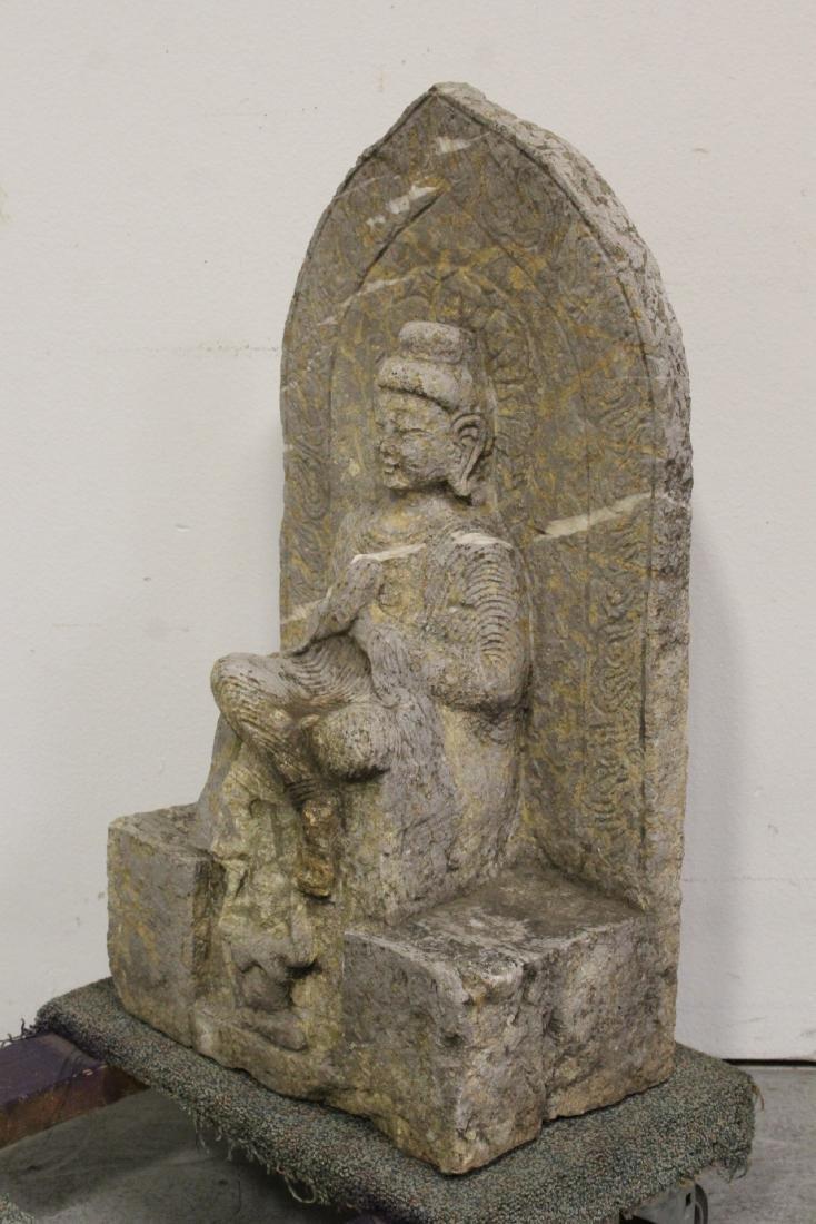 Chinese stone carved Buddha - 6