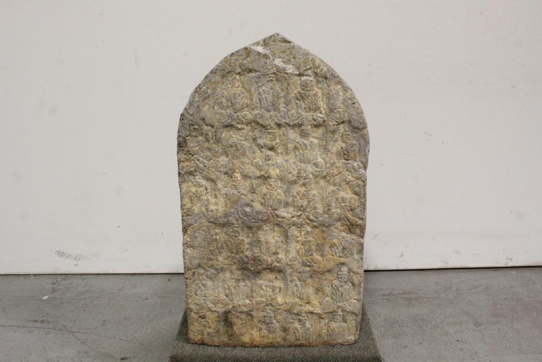 Chinese stone carved Buddha - 8