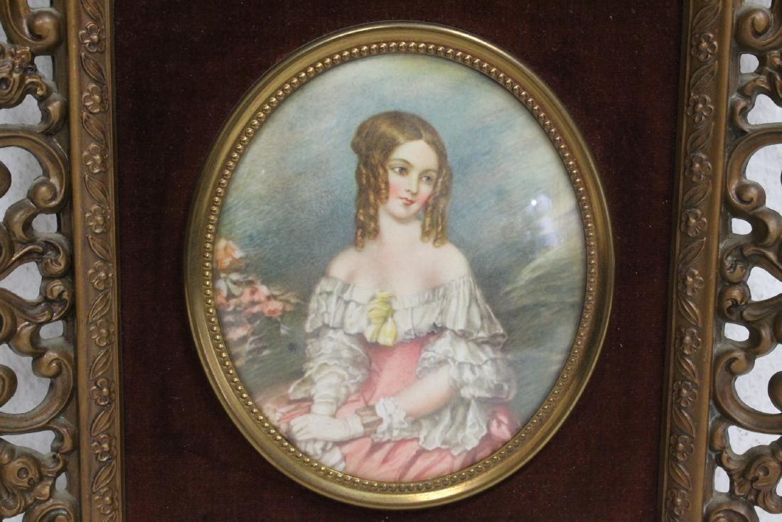 4 framed antique prints - 5