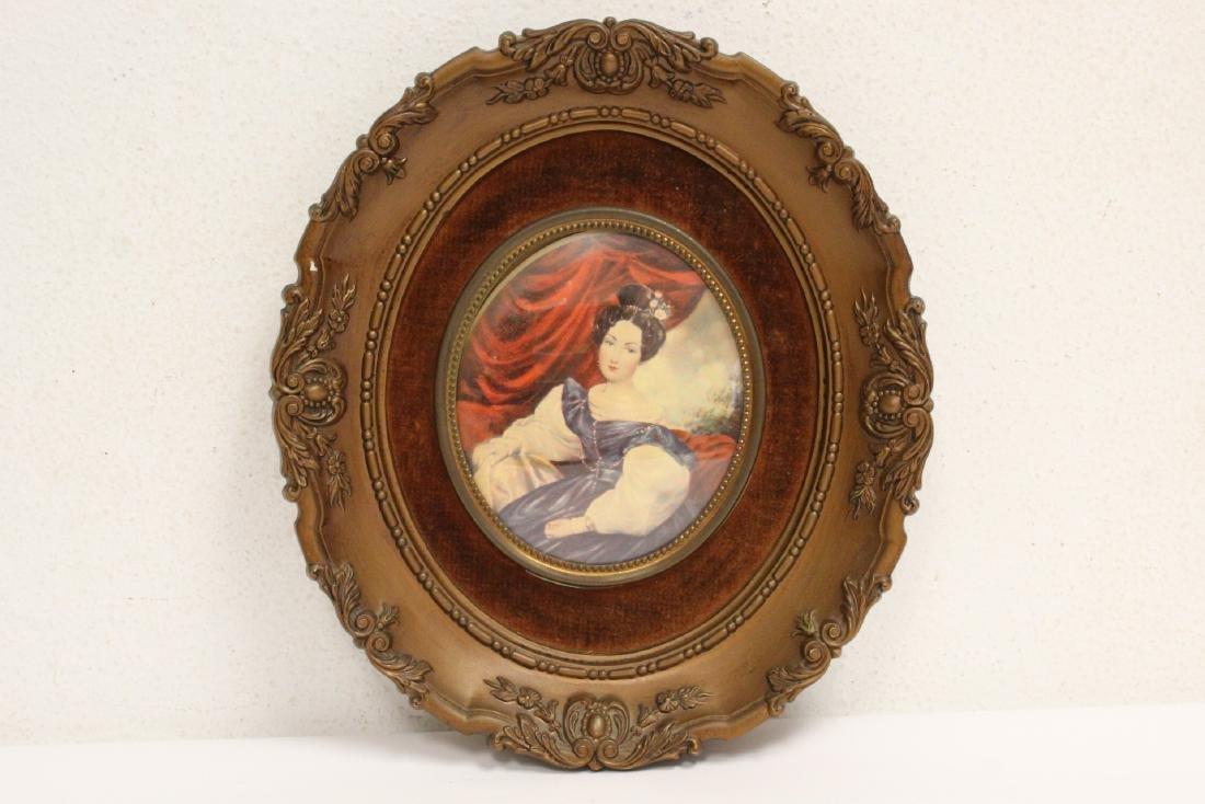 4 framed antique prints - 6