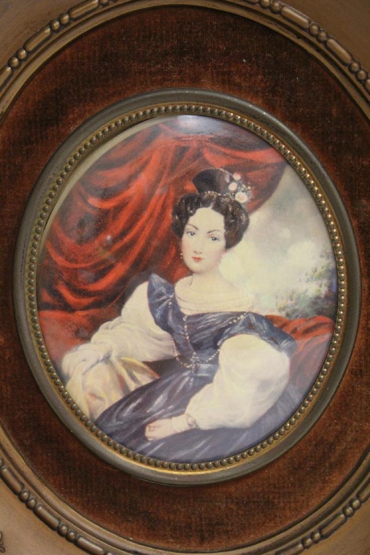 4 framed antique prints - 7