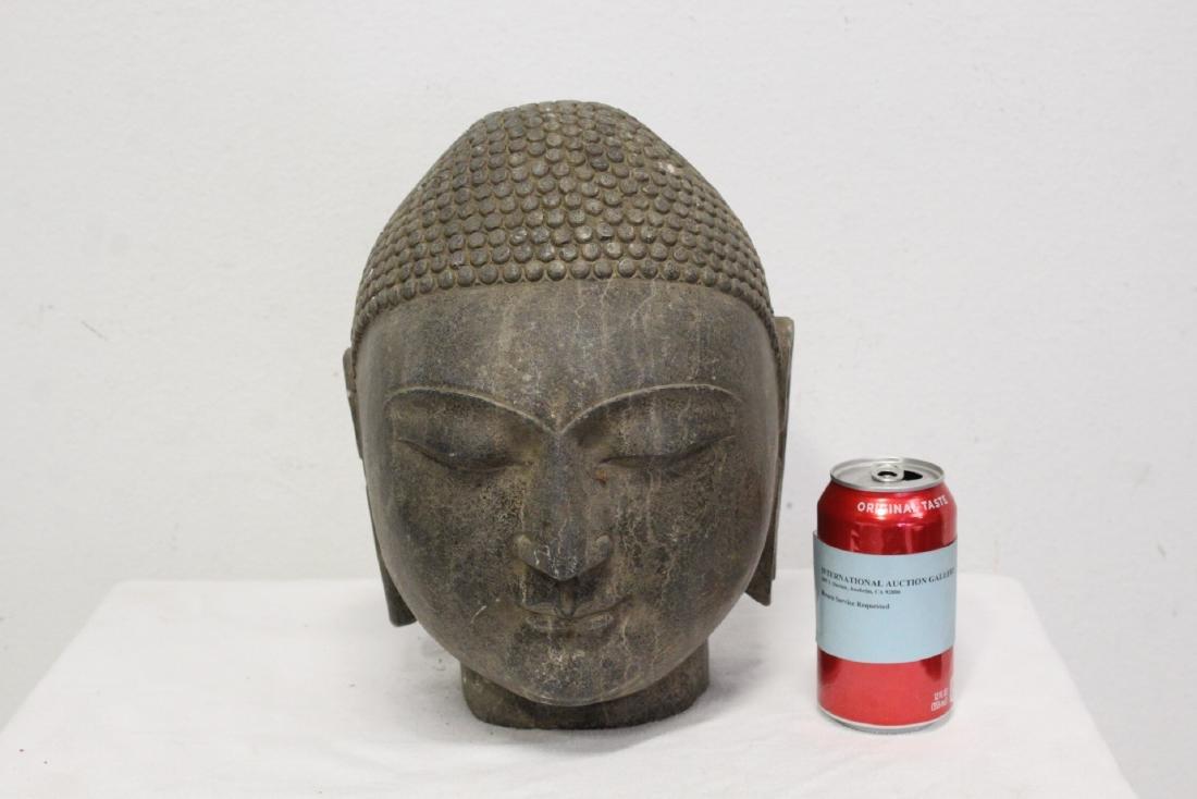 Chinese stone Buddha head