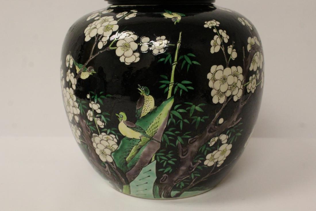 An important Chinese antique porcelain jar - 3