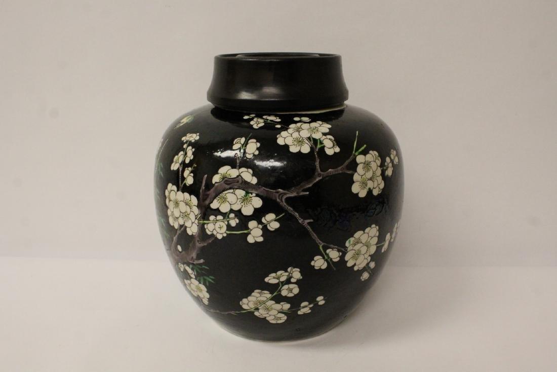 An important Chinese antique porcelain jar - 4