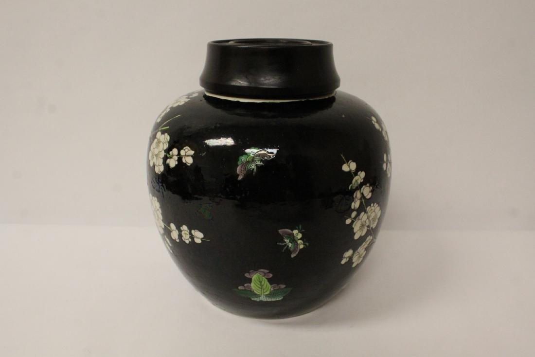 An important Chinese antique porcelain jar - 5