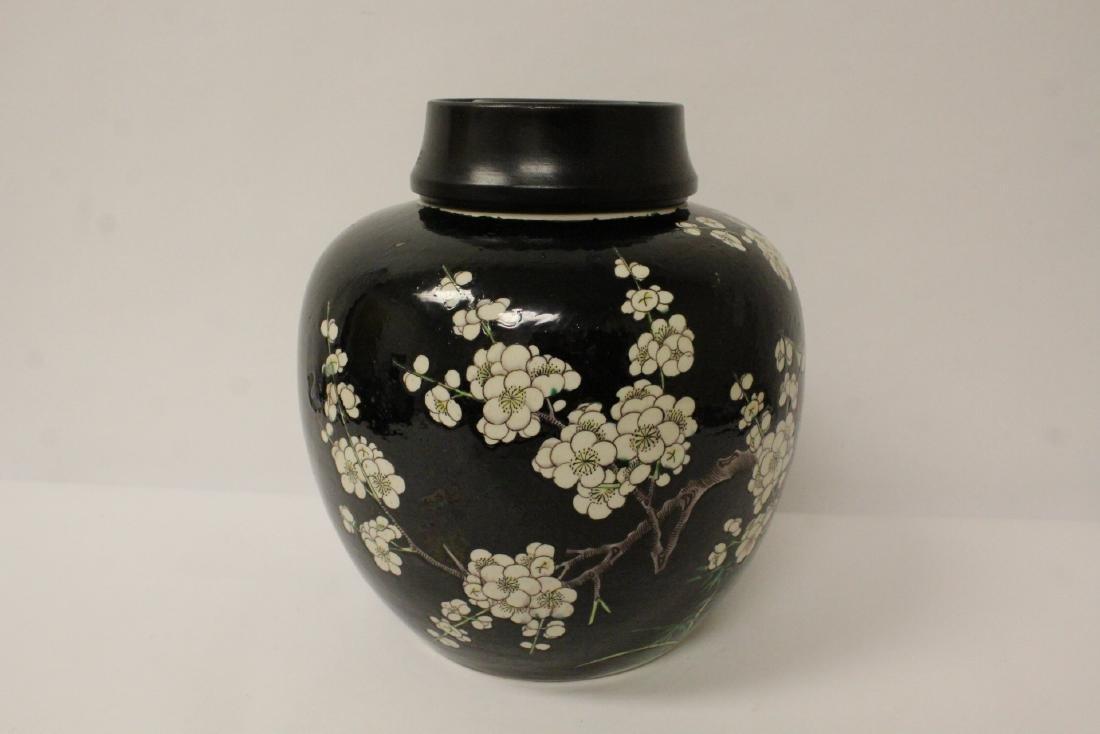 An important Chinese antique porcelain jar - 6