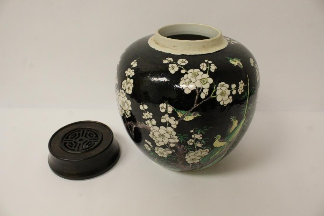 An important Chinese antique porcelain jar - 8