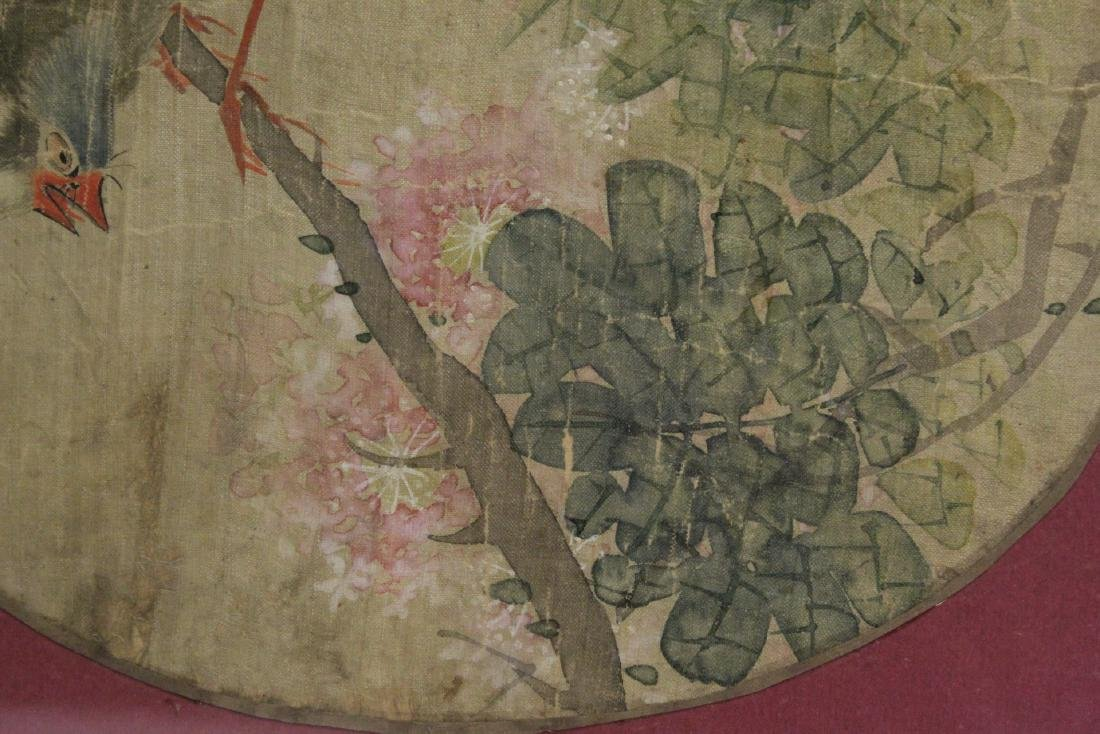 Chinese 19th century or earlier framed watercolor - 9