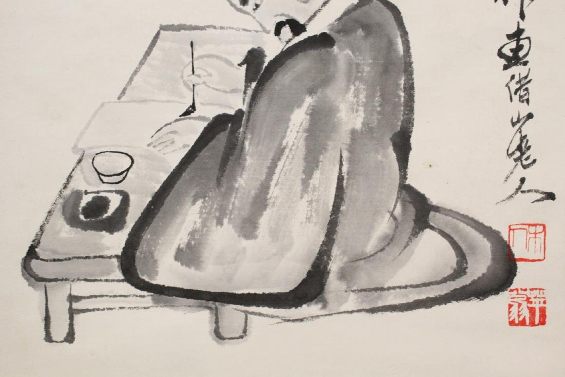 2 watercolor scrolls - 9