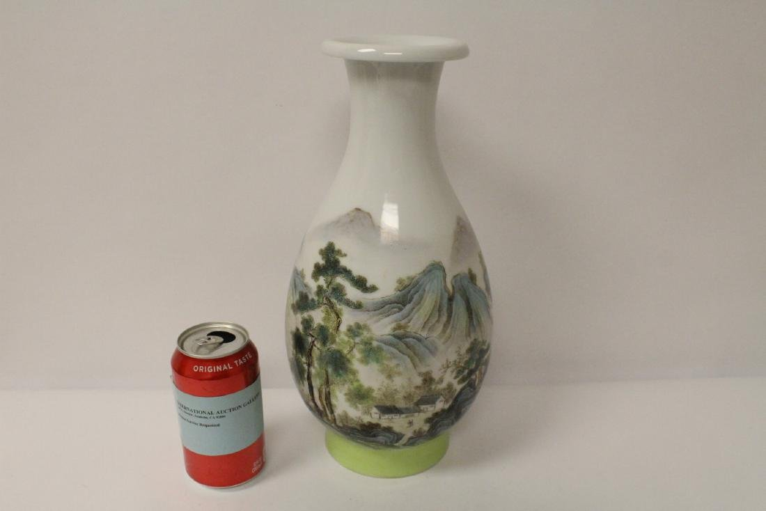 A beautiful Chinese famille rose porcelain vase - 2