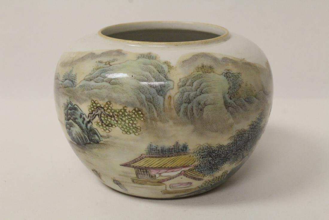 Chinese famille rose porcelain water dripper