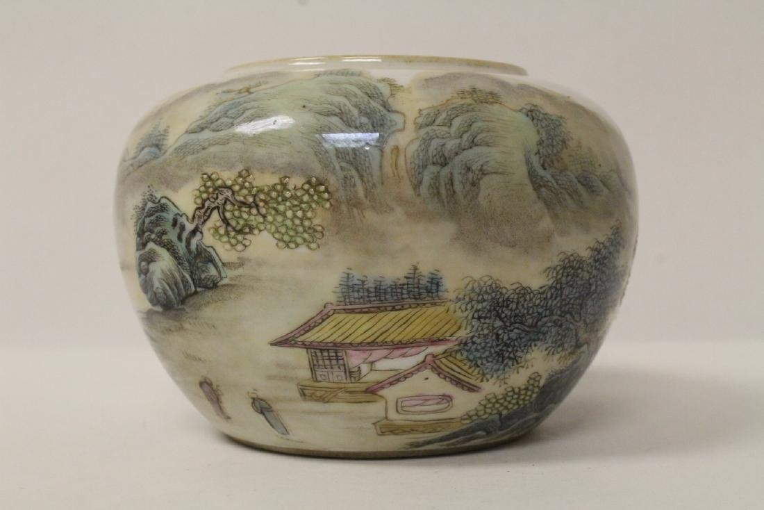 Chinese famille rose porcelain water dripper - 2