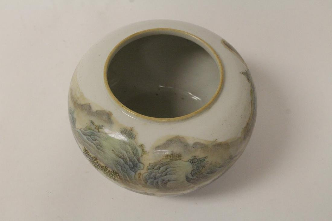 Chinese famille rose porcelain water dripper - 7