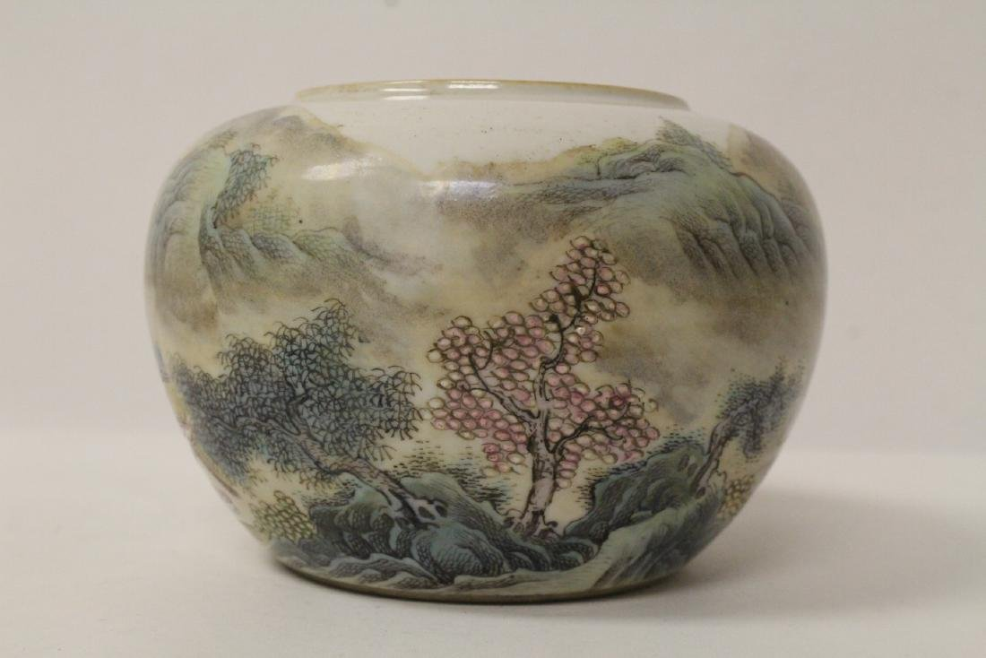 Chinese famille rose porcelain water dripper - 8
