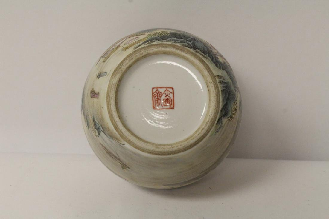 Chinese famille rose porcelain water dripper - 9