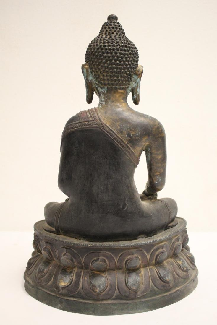A large Chinese bronze sculpture - 3