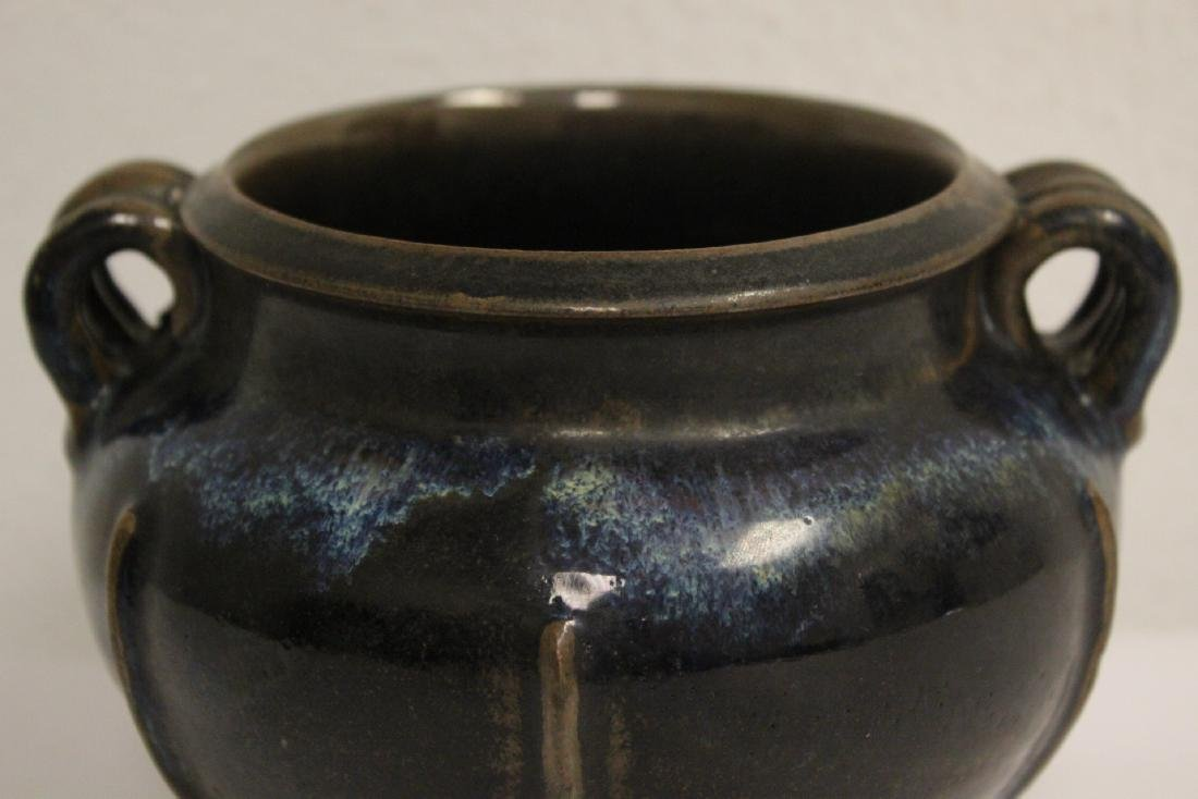 Song style brown glazed jar - 6