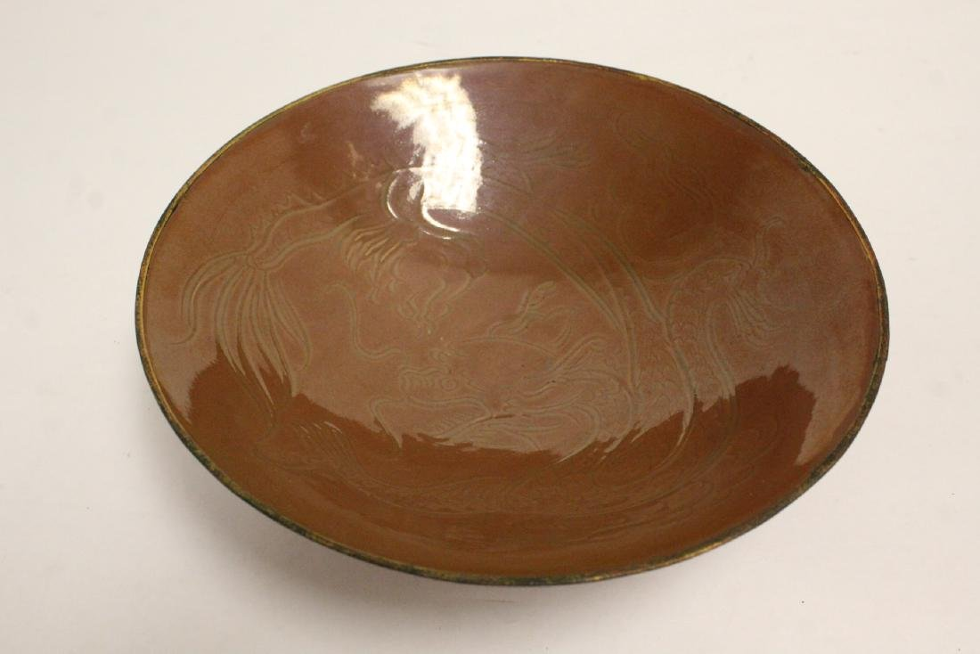 Chinese Song style brown glazed bowl