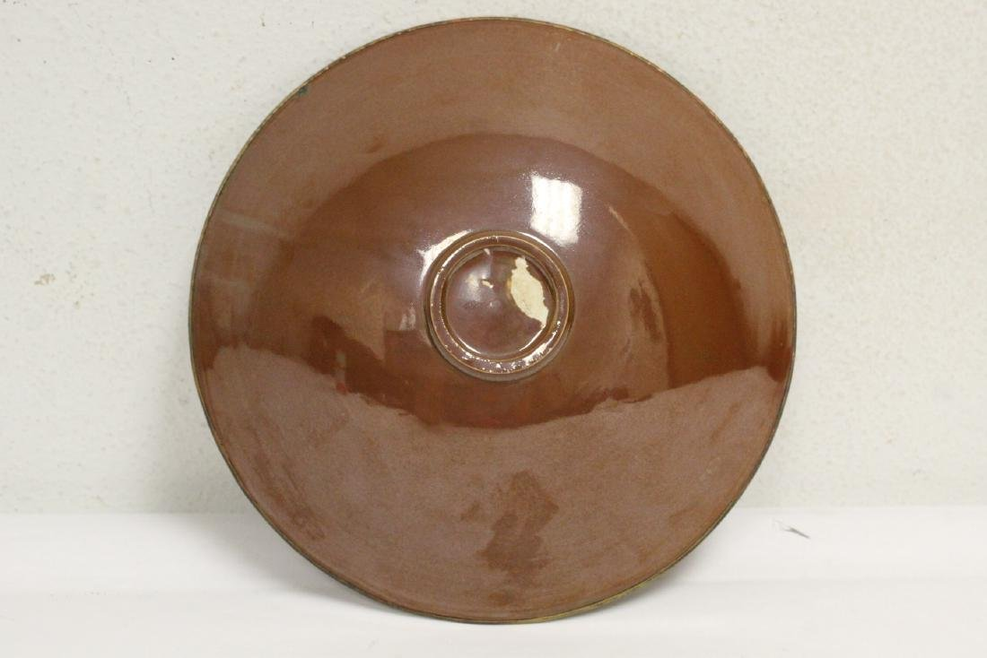 Chinese Song style brown glazed bowl - 8