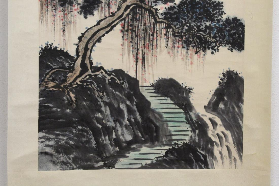Chinese watercolor scroll - 5