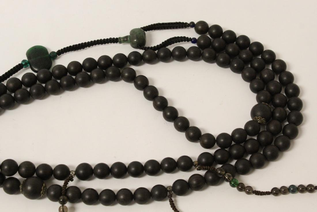 Wood bead necklace - 6