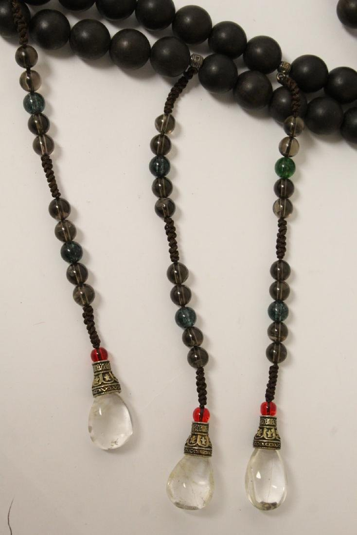 Wood bead necklace - 7