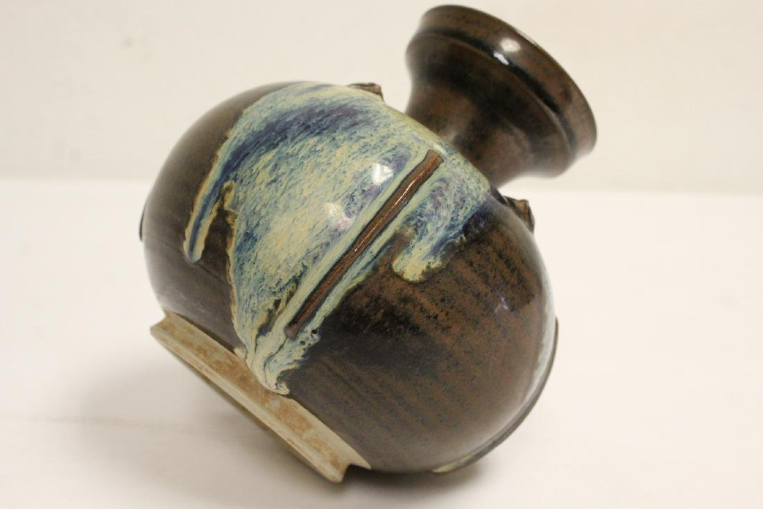 Song style brown glazed jar - 10