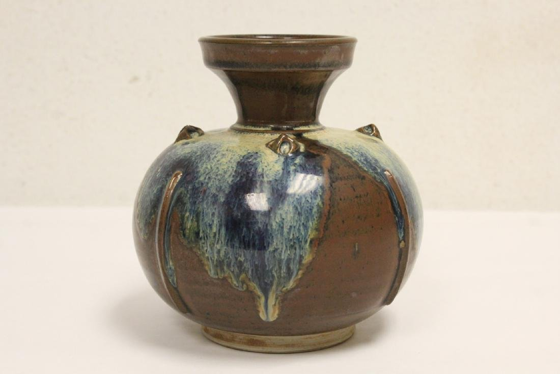 Song style brown glazed jar - 2