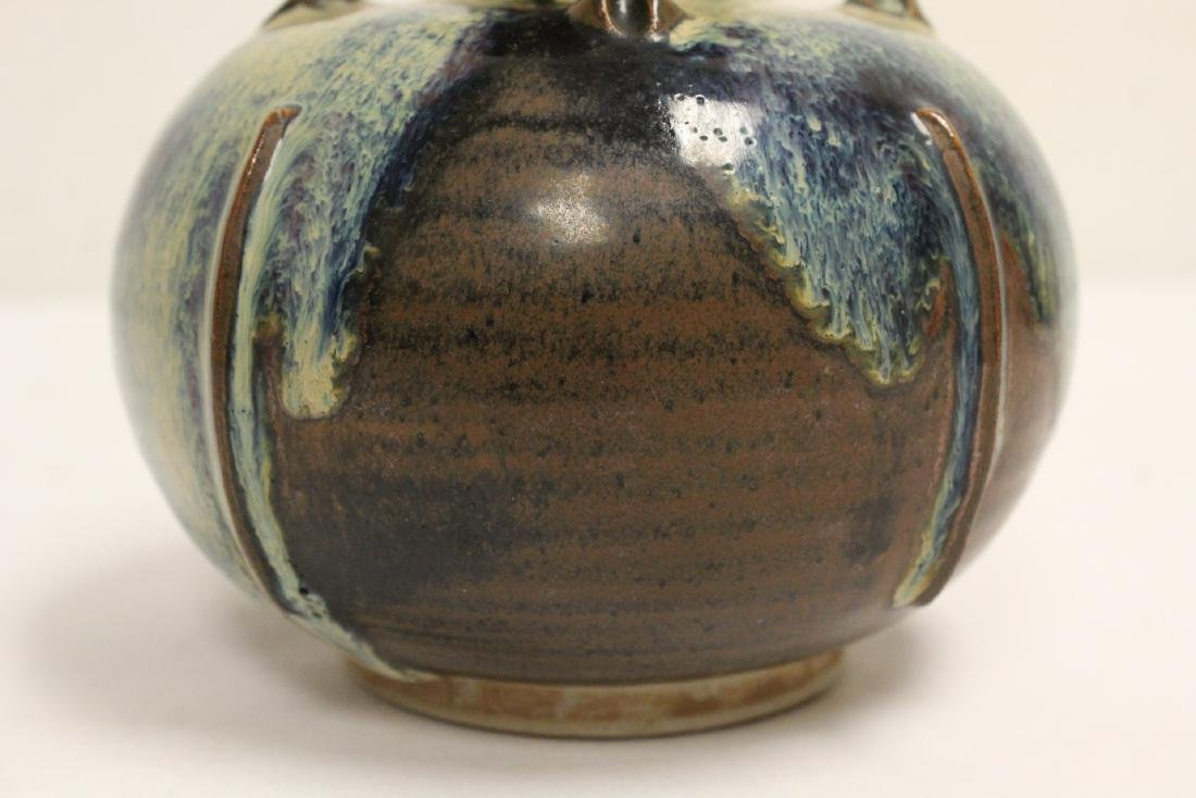 Song style brown glazed jar - 7