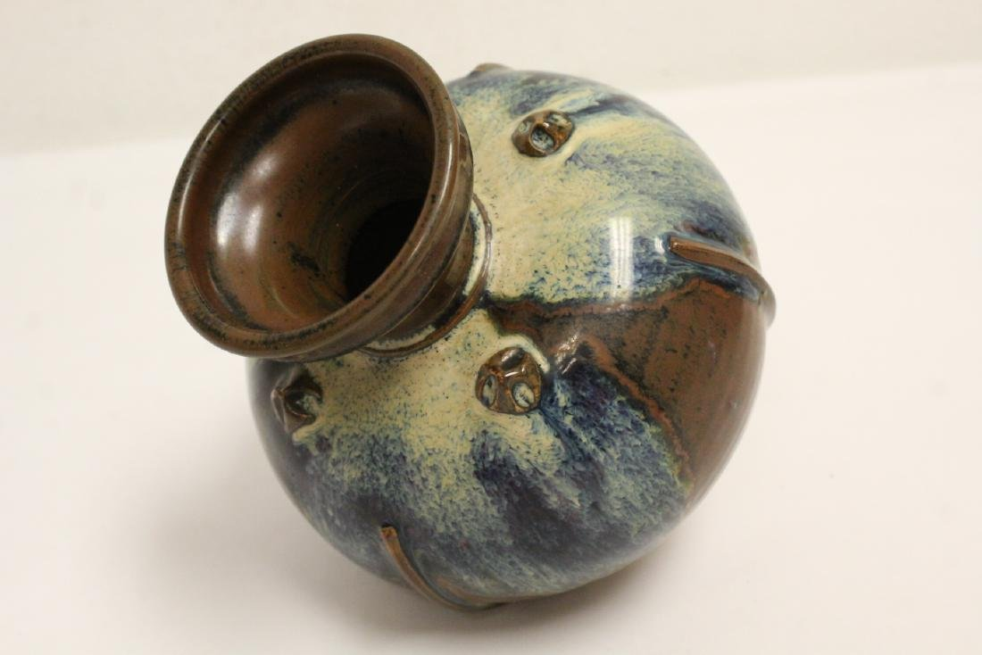Song style brown glazed jar - 8