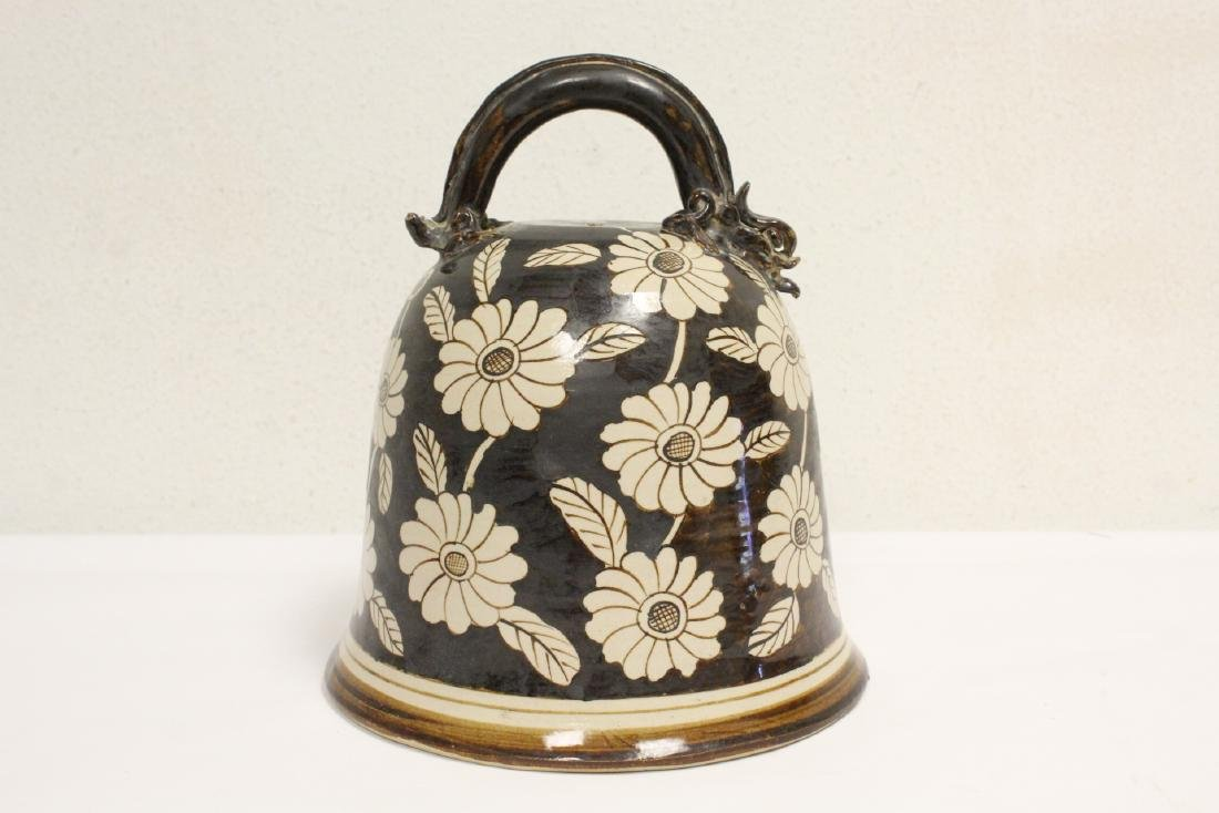Song style pottery bell - 3