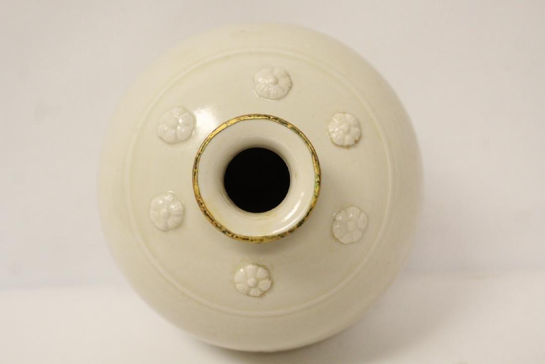 Small white porcelain jar - 5