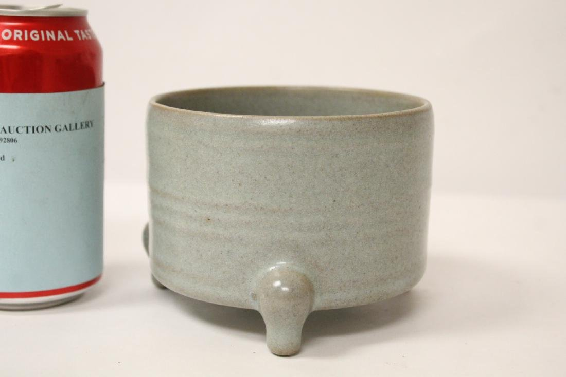 A Song style tripod censer - 3