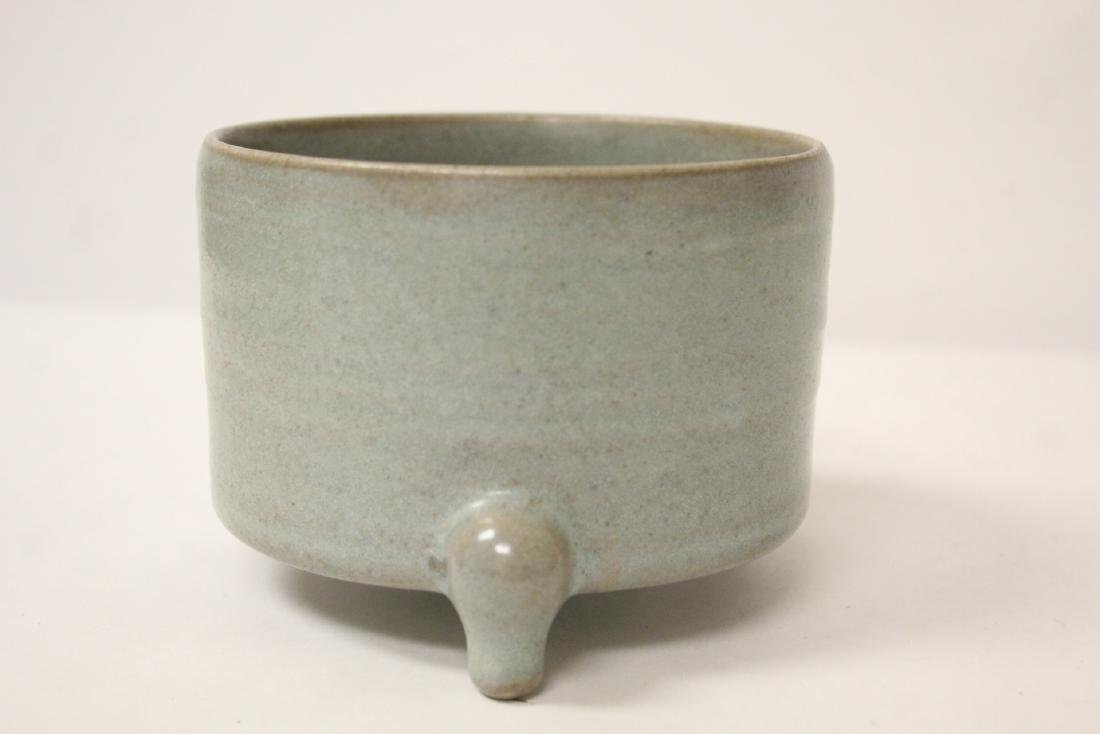 A Song style tripod censer - 4