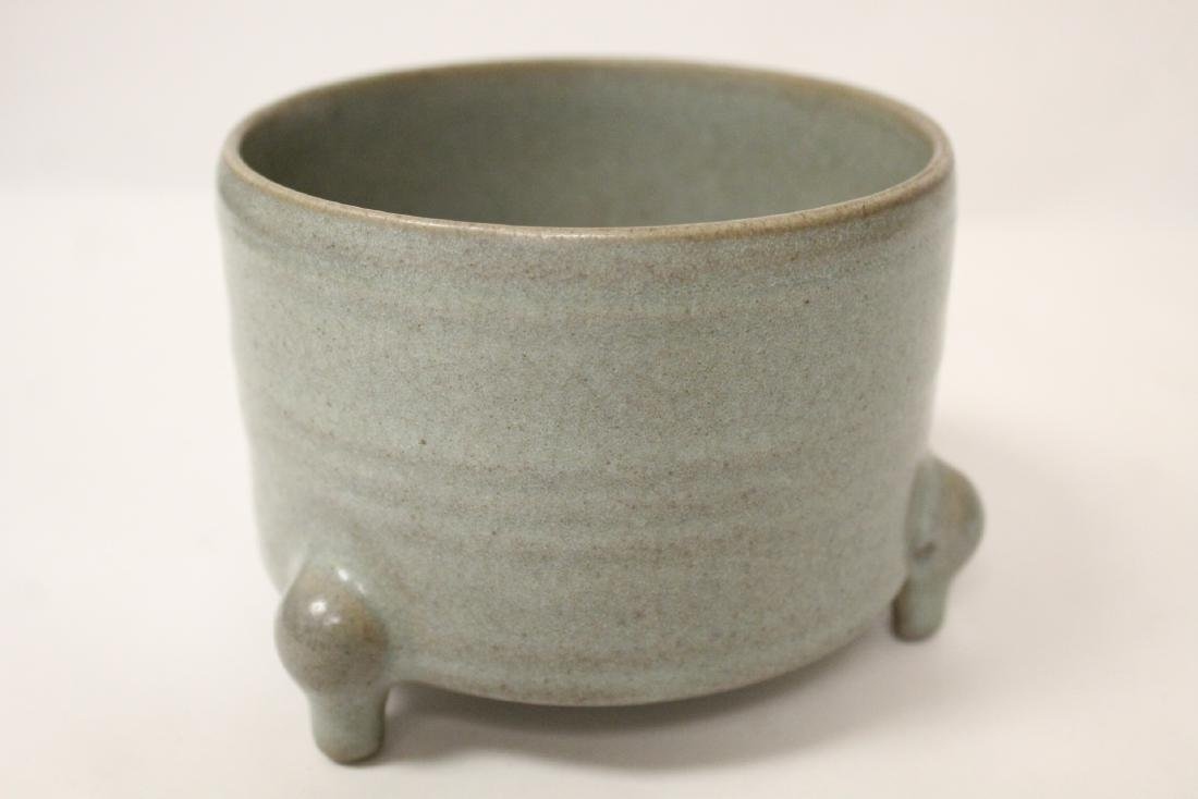 A Song style tripod censer - 8