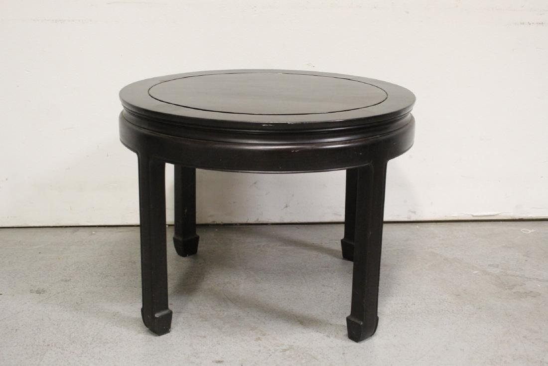 Chinese vintage rosewood round table