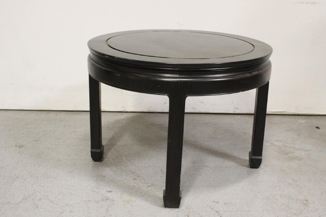 Chinese vintage rosewood round table - 2