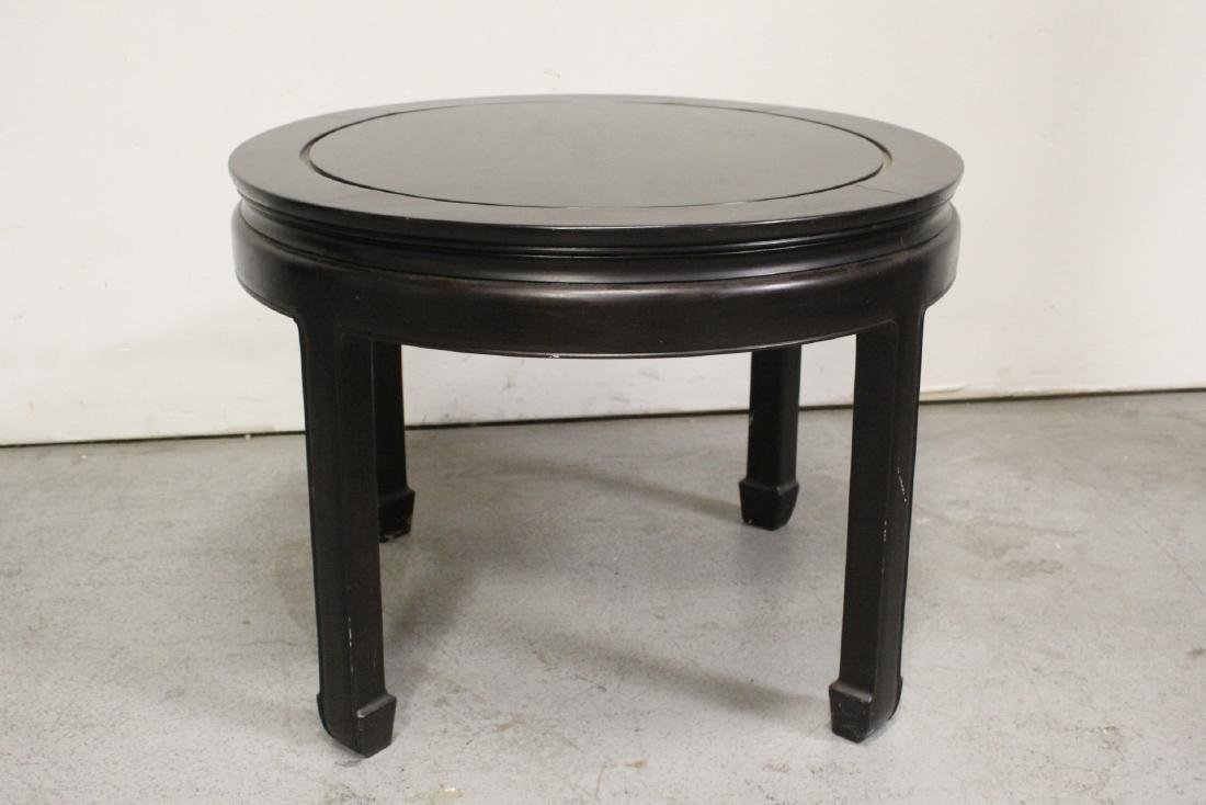Chinese vintage rosewood round table - 3