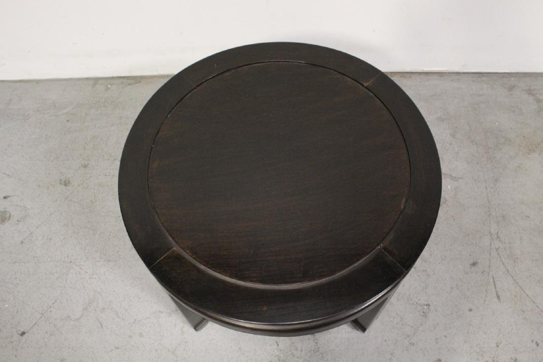 Chinese vintage rosewood round table - 6
