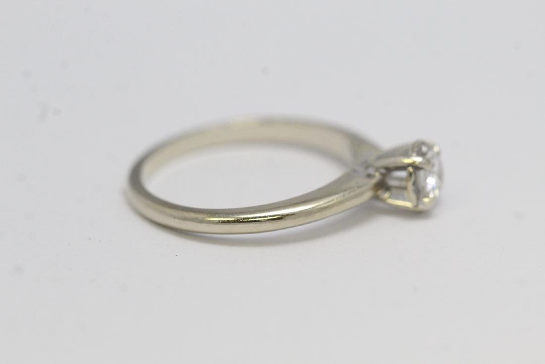 14K W/G diamond ring - 5