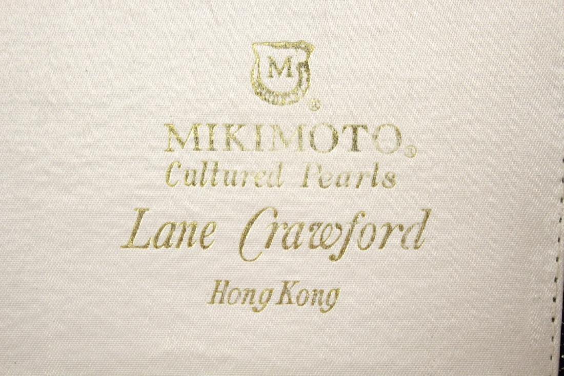 Mikimoto cultured pearl necklace - 2