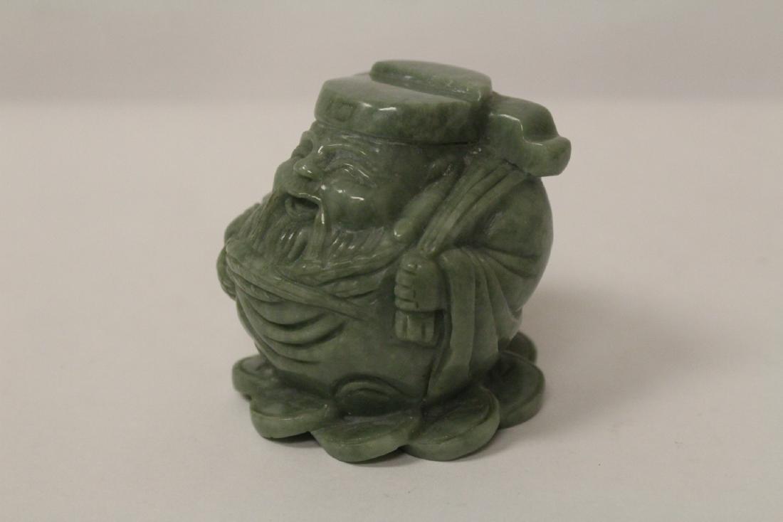 A jadeite like stone carving - 2