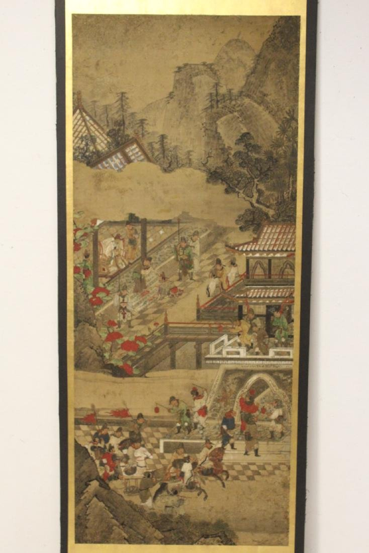 Antique Chinese watercolor on paper
