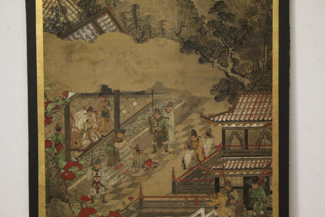 Antique Chinese watercolor on paper - 4