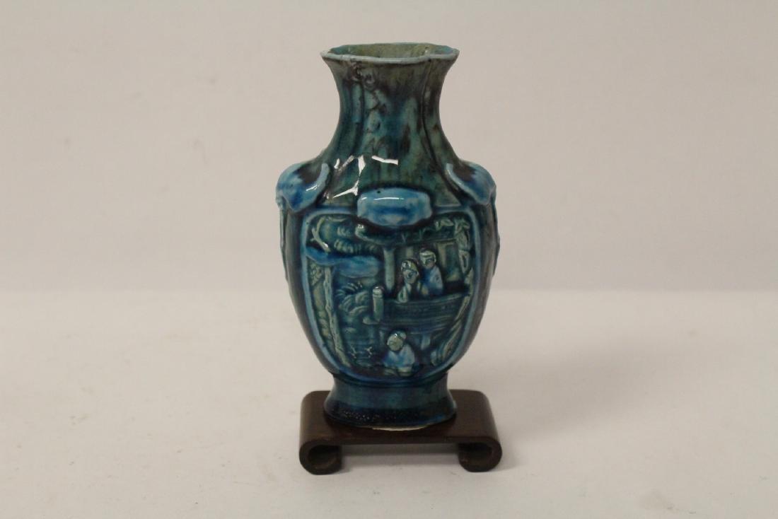 5 small vintage porcelain vases - 2
