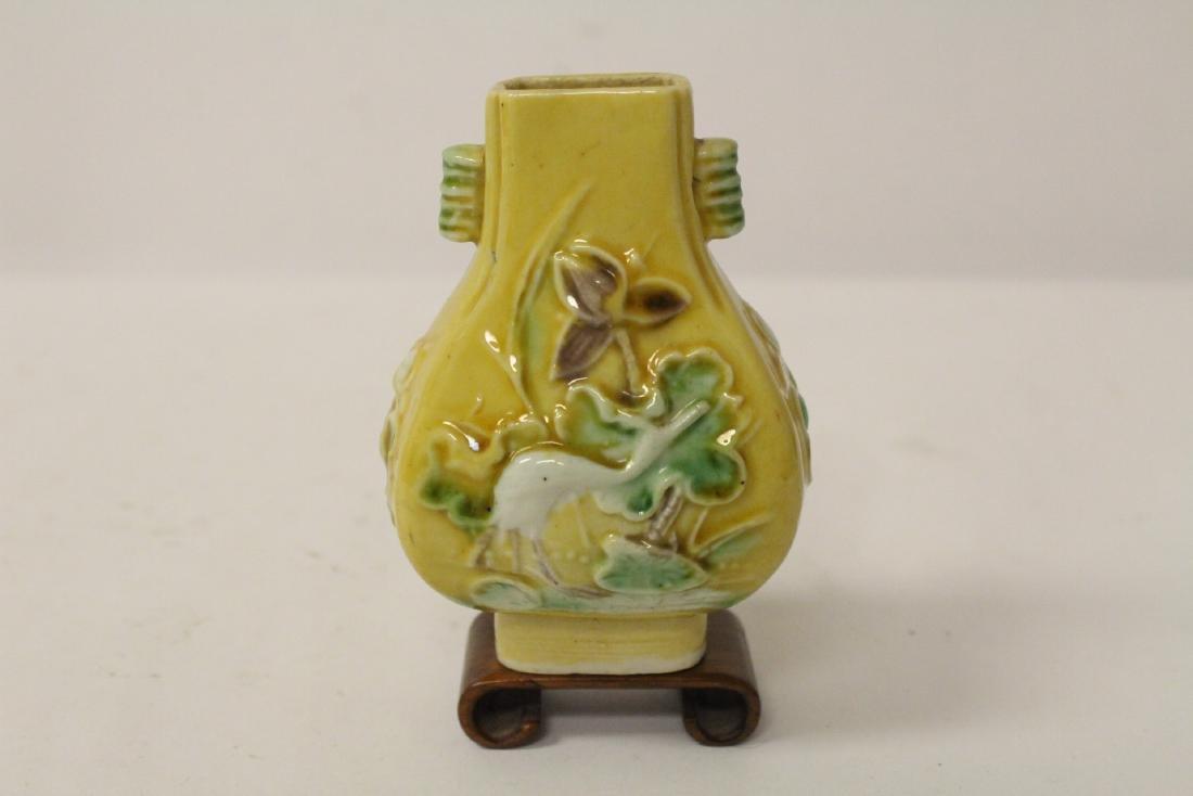 5 small vintage porcelain vases - 6